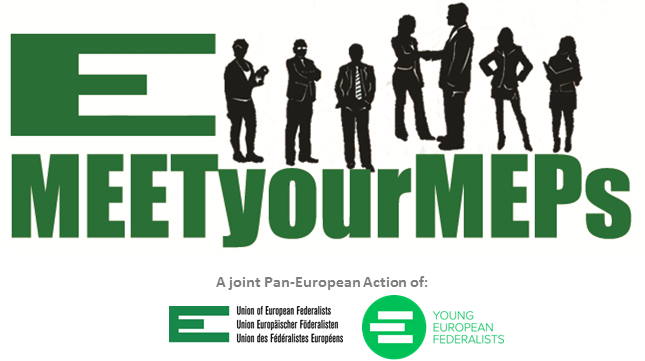 Logo dell'azione Meet your MEPs